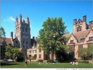 Image of Yale campus