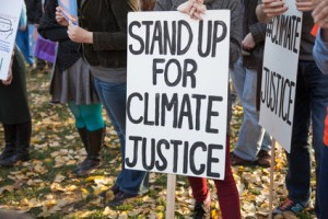 Stand up for climate justice