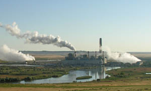 Image of coal fired plant