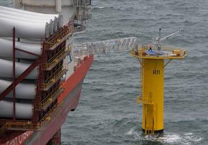 This 9.5-megawatt turbine