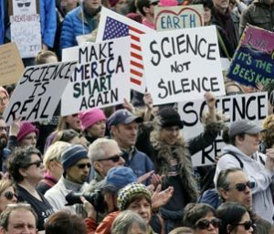 Image of Science march