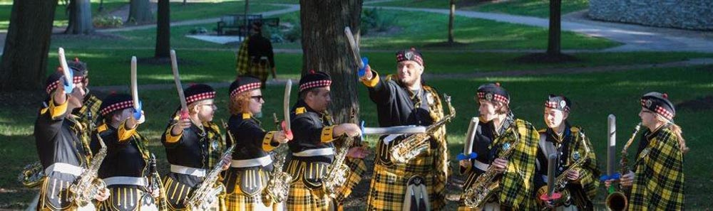 wooster fighting scots display