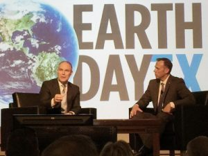 Scot Pruitt speaks at Earth Day Texas