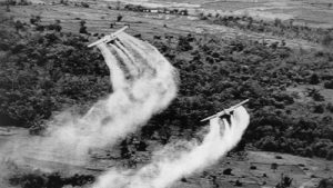 Agent Orange spraying in Vietnam