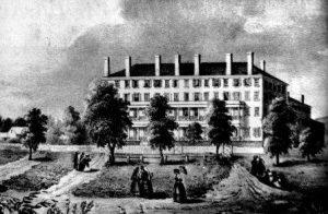 historic photo of Mount Holyoke Female Seminary