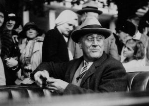 Image of Franklin Delano Roosevelt in 1932