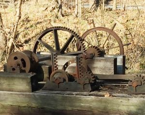 Image of canal gears