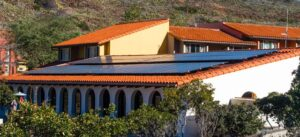image of solar installation at the university of southern california